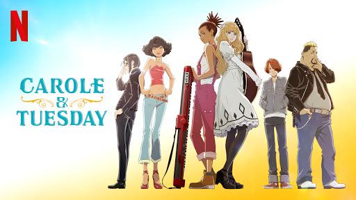 Resenha anime Carole & Tuesday - indicação de anime musical com drama