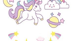 Imágenes de unicornios para imprimir 🦄