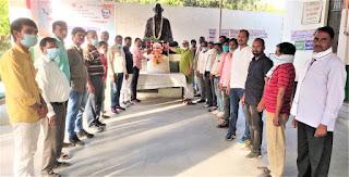 पूर्व राज्यपाल लालजी टंडन की जयंती पर गांधी भवन में दी गई श्रद्धांजलि