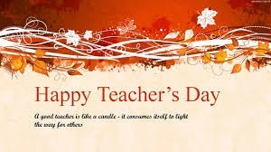 Teachers' Day 2019 (Dominican Republic)