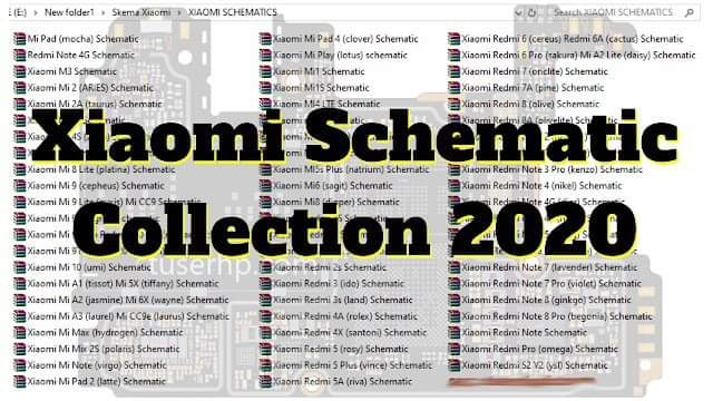 Xiaomi Schematic Diagram Collection