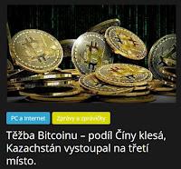 Těžba Bitcoinu – podíl Číny klesá, Kazachstán vystoupal na třetí místo. - AzaNoviny