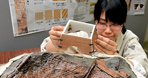 Woven basket finding in Japan unravels ancient wooden box mystery