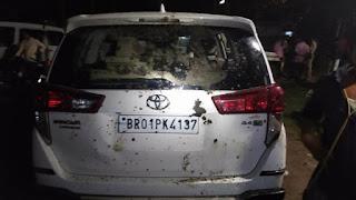 शिवहर से जदयू विधायक की कार पर हमला, शिकायत पर चार गिरफ्तार