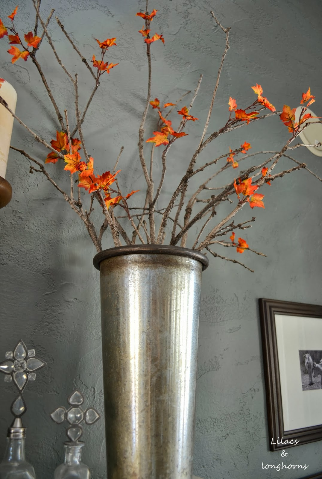How To Get Easy Money >> DIY Fall Branches - Lilacs and LonghornsLilacs and Longhorns