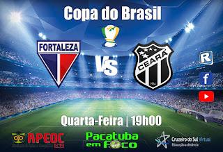 Copa do Brasil - Fortaleza 1 x 1 Ceará - Narração Marcos Varela
