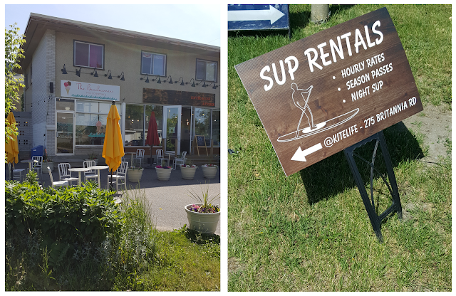 Britannia Village and Beach SUP Rentals in Ottawa