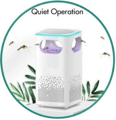 Keekos USB Powered Electronic Non-Toxic Eco-Friendly Fly Inhaler, Mosquito Killer, Mosquito Killer lamp, Mosquito Killer Machine, Mosquito Killer lamp for Home