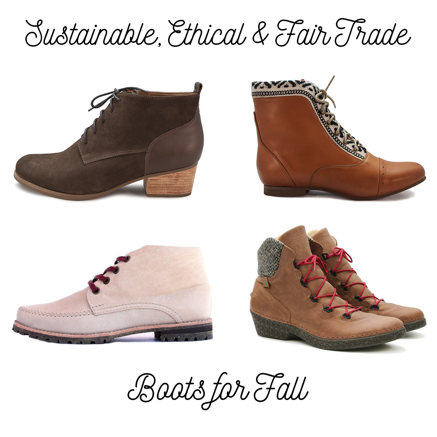 sustainable boots