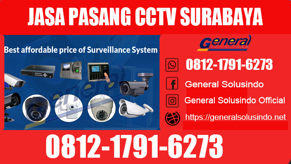 Jasa Pasang CCTV Kenjeran Surabaya