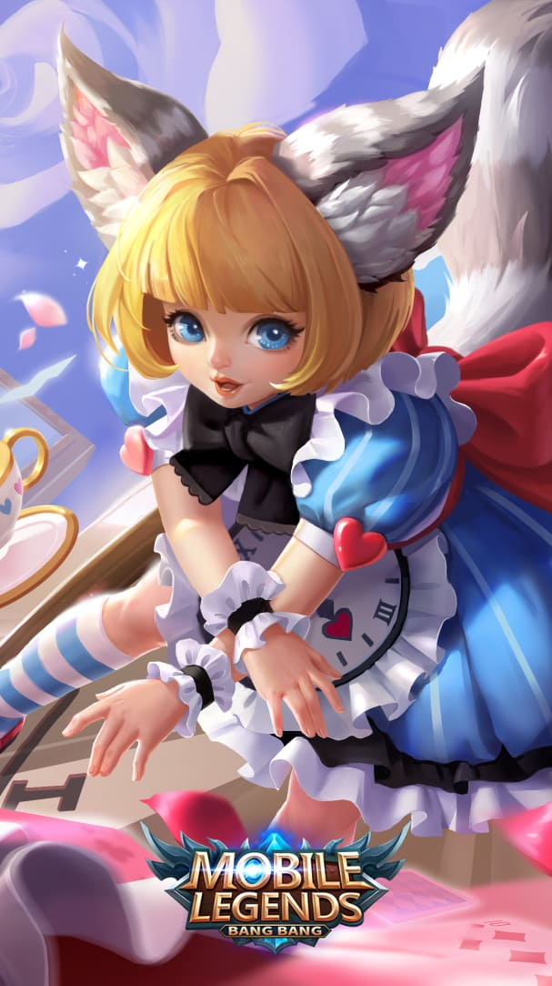Wallpaper Nana Clockwork Maid Skin Mobile Legends HD for Android and iOS