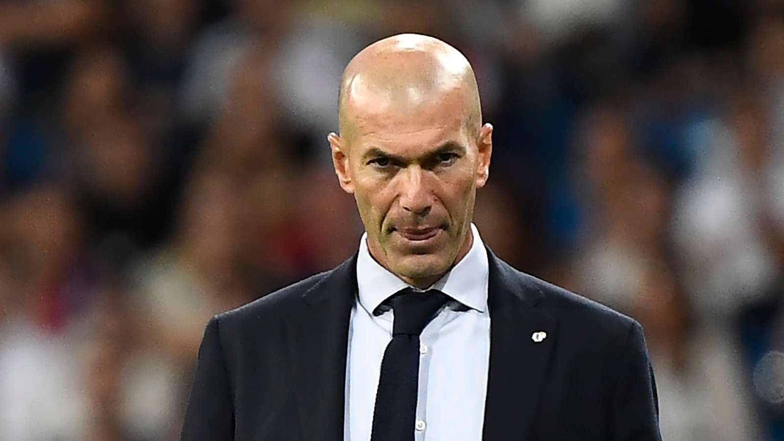 Zidane: Happy to win and we don't care about the result of Barcelona and Atlético Madrid