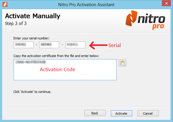 nitro pdf professional licence key