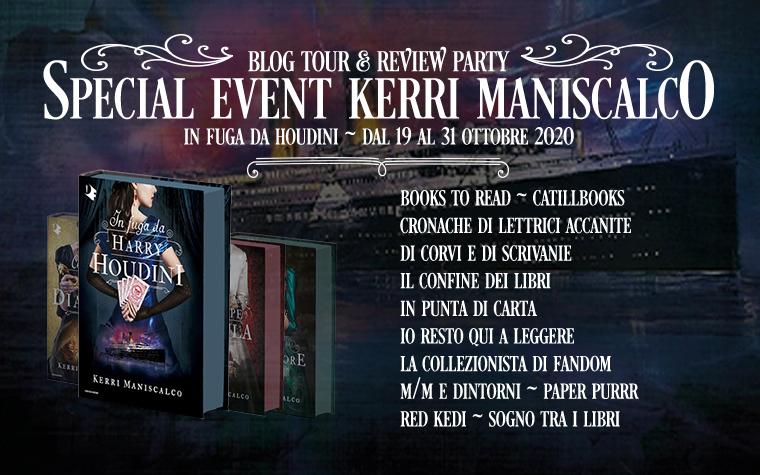 Review Party - In fuga da Houdini di Kerri Maniscalco
