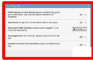Facebook Photo Privacy Settings