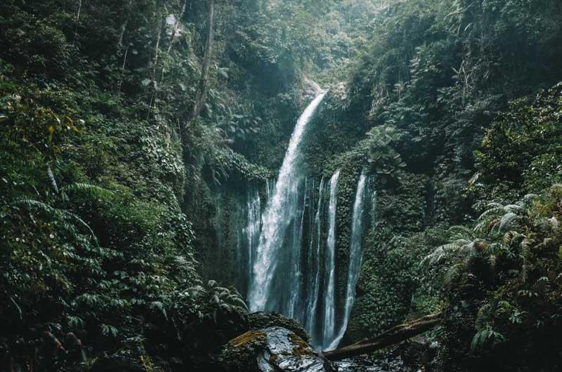 Tiu Kelep Waterfall Lombok NTB