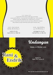 Download Undangan Kuning Free CDR