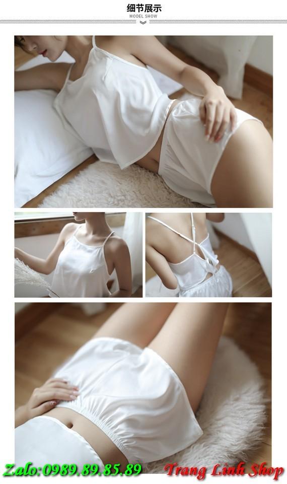 Đồ ngủ mặc nhà quyến rũ dễ thương BH 0337
