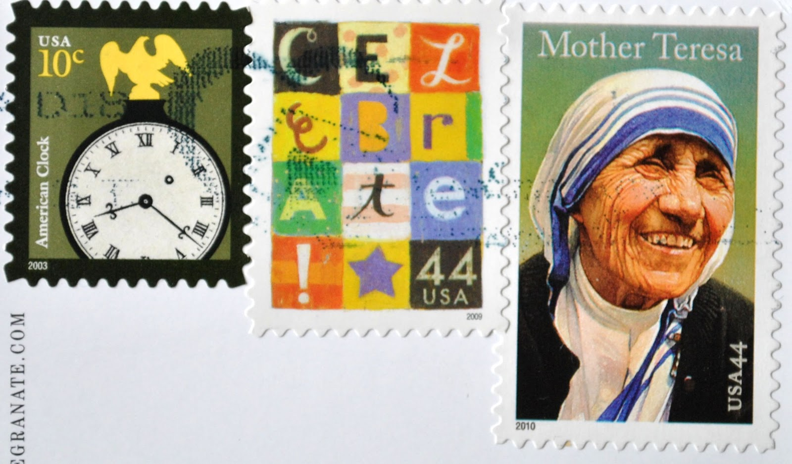 znaczek z Matką Teresą