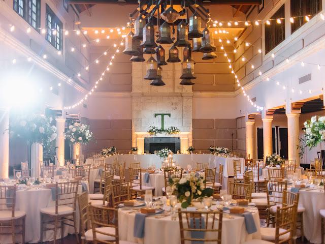 isleworth country club reception ballroom decor