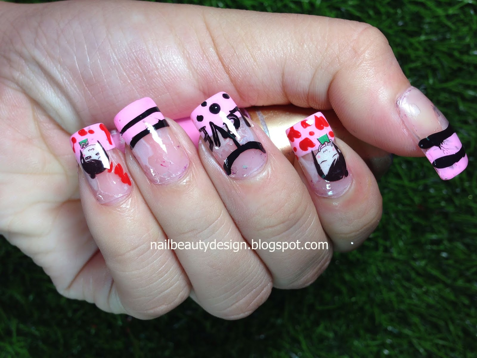 Simple Cute Nails Designs Styles You Can Try At Home #40 - Nail ...