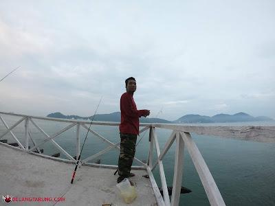 Aktiviti Memancing Di Rockbund Fishing Chalet