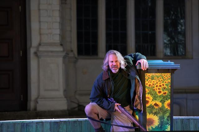 Janacek: The Cunning Little Vixen - Grant Doyle - Opera Holland Park, 2021 (Photo Ali Wright)