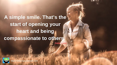 Best Quotes on Smile - A Simple smile