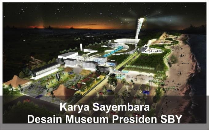 desain museum presiden sby