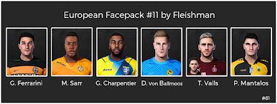 PES 2021 European Facepack #11 by Fleishman