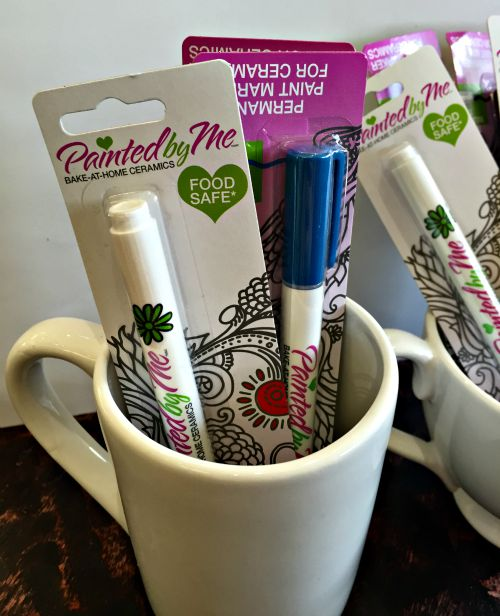 NO Fail DIY Marker Mug - uses ceramic markers made for mugs instead of Sharpies (which don't work)