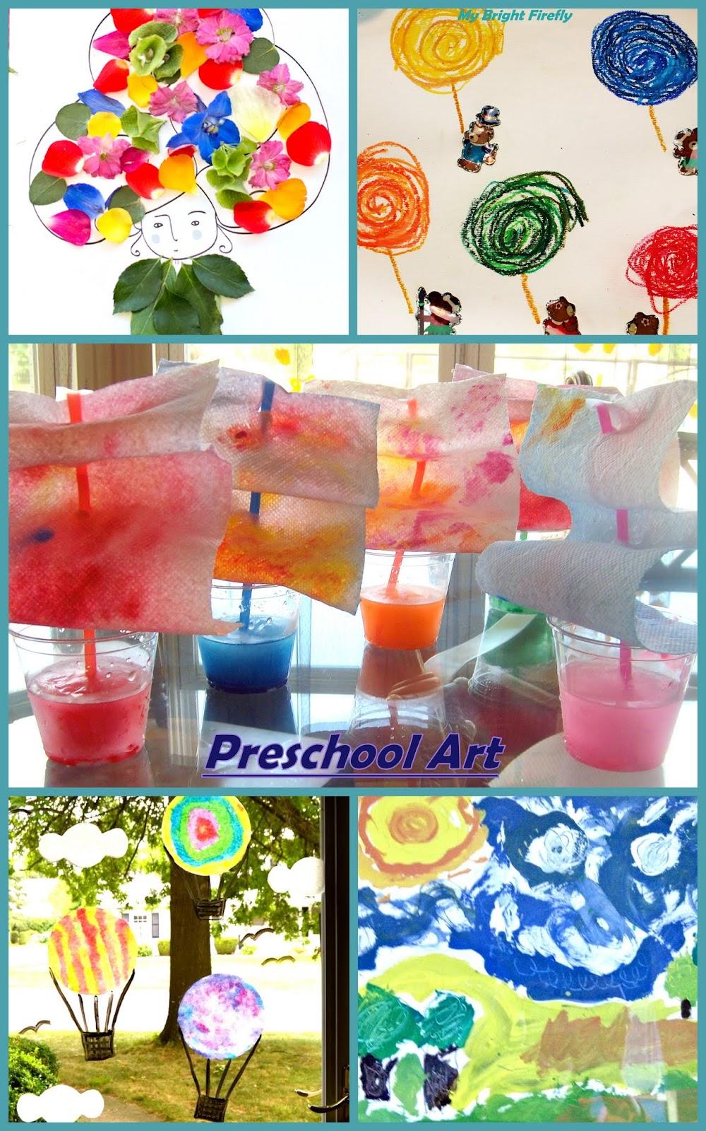 My Bright Firefly: Summer Preschool Art Projects