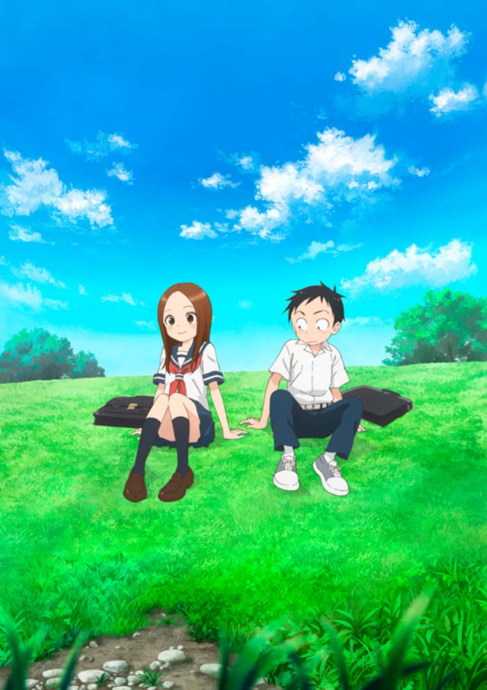 Takagi-san: Experta en bromas pesadas (Karakai Jouzu no Takagi-san) anime temporada 2