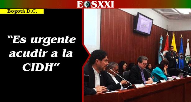 Iván Cepeda propone acciones internacionales para proteger a líderes sociales