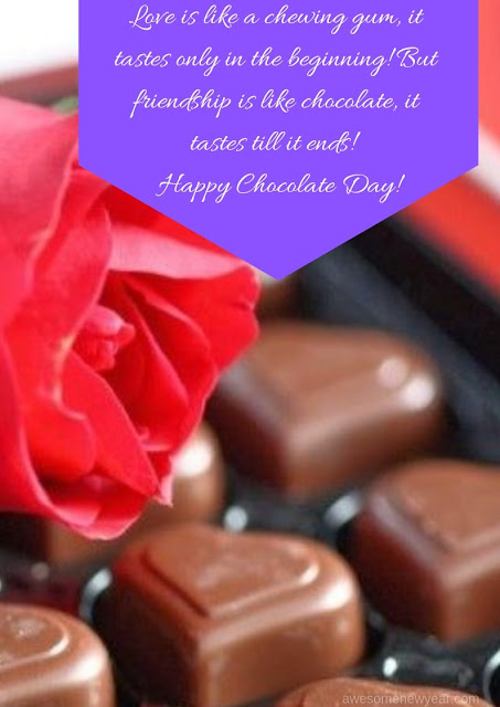 Happy Chocolate Day Quotes 2019