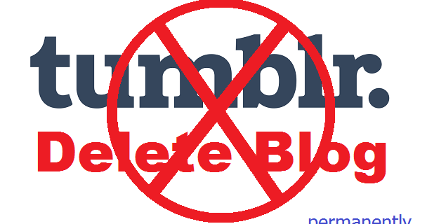 how to delete blog in steemit