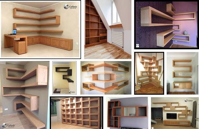 18 ideas de estantes de madera que todos amarán