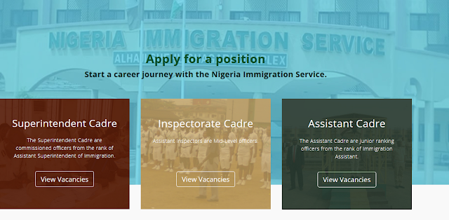 NIS 2020 Recruitment Application Guidelines | immigrationrecruitment.org.ng