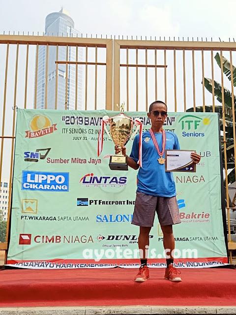 Kusmeidi Juara Turnamen ITF G2 !