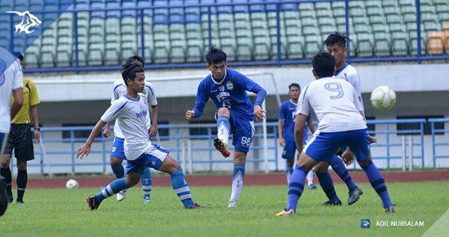 Persib Menang 9-0 dalam Laga Uji Coba Kontra Persib U-21 di GBLA