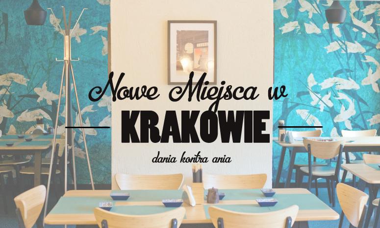 gdzie zjesc w Krakowie