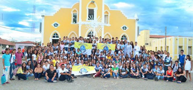 Juventude Missionária promove intercâmbio na Diocese de Caicó (RN)