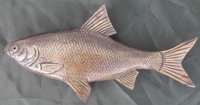 деревянные рыбы России - плотва