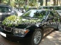 Cho thuê xe cưới BMW 750i
