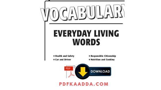 Vocabulary Everyday Living Words Download Pdf