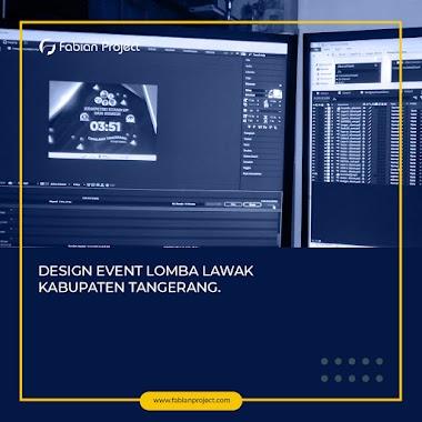 Design untuk Event Lomba Lawak Kabupaten Tangerang 2019
