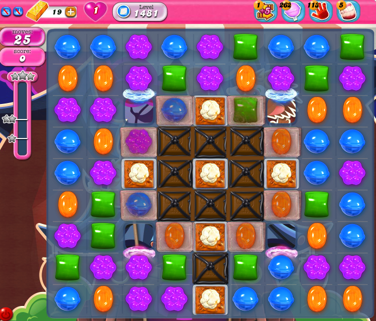 Candy Crush Saga 1481