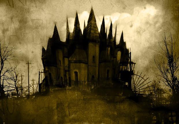 Gothic Dark Castle Landscapes