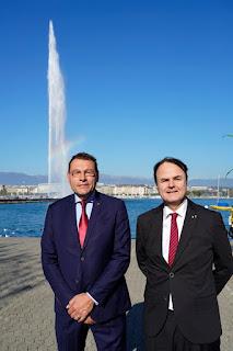 Christo Ivanov et Pascal Altenbach au Conseil administratif VdG!
