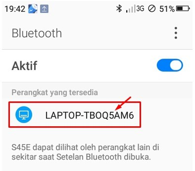 Cara Menyambungkan Bluetooth Laptop Windows 10 ke HP